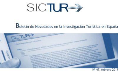 Boletín de Novidades na Investigación Turística en España