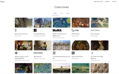 ¿Coñeces Google Arts & Culture?