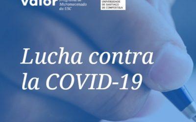 A USC impulsa un programa de microdoazóns para a investigación contra o Covid 19