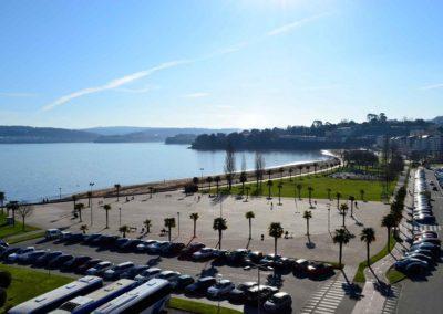 Hotel Alda Marina Sada, vistas